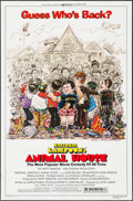 """Movie Posters:Comedy, Animal House (Universal, R-1979). One Sheet (27"""" X 41"""") Style A and Original Release Mini Lobby Card Set of 4 (8"""" X 10""""). Co... (Total: 5 Items)"""