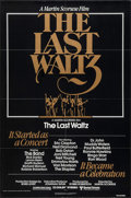 "Movie Posters:Rock and Roll, The Last Waltz (United Artists, 1978). One Sheet (27"" X 41""). Rockand Roll.. ..."