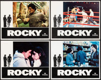 "Rocky & Other Lot (United Artists, 1977). Lobby Cards (4) (11"" X 14"") and One Sheet (27"" X 41"")..."