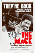 "Movie Posters:Blaxploitation, The Mack (American International, R-1977). Reissue One Sheet (27"" X 41"") and Original Release Photos (2) (8"" X 10""). Blaxplo... (Total: 3 Items)"
