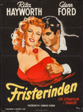 "Movie Posters:Drama, The Loves of Carmen (Columbia, 1949). Danish Poster (24.5"" X33.25""). Drama.. ..."
