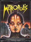 "Movie Posters:Science Fiction, Metropolis (Gaumont, R-1984). French Grande (46"" X 62""). Science Fiction.. ..."