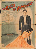 "Movie Posters:Romance, Wuthering Heights (Pantheon, R-1948). French Grande (45.5"" X 62.25""). Romance.. ..."