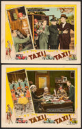 "Movie Posters:Comedy, Taxi! Taxi! (Universal, 1927). Lobby Cards (2) (11"" X 14""). Comedy.. ... (Total: 2 Items)"