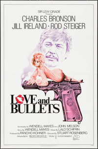 """Love and Bullets & Other Lot (Associated Film Releasing, 1979). One Sheets (2) (27"""" X 41""""). Crime. ... (To..."""