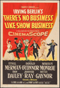 """Movie Posters:Musical, There's No Business Like Show Business (20th Century Fox, 1954). One Sheet (27"""" X 41""""). Musical.. ..."""