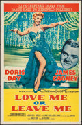 "Movie Posters:Drama, Love Me or Leave Me (MGM, 1955). One Sheet (27"" X 41""). Drama.. ..."
