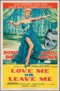 "Love Me or Leave Me (MGM, 1955). One Sheet (27"" X 41""). Drama"