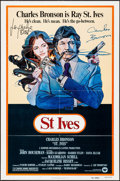 """Movie Posters:Action, St. Ives & Other Lot (Warner Brothers, 1976). Autographed OneSheets (2) (27"""" X 41""""). Action.. ... (Total: 2 Items)"""