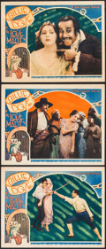 "Movie Posters:Drama, The Love Mart (First National, 1927). Lobby Cards (3) (11"" X 14"").Drama.. ... (Total: 3 Items)"