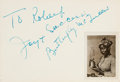 Movie/TV Memorabilia:Autographs and Signed Items, A Pair of Autograph Books with Signatures Including Lucille Ball,Butterfly McQueen, and Elsa Lanchester Among Others, Late 19...(Total: 2 Items)
