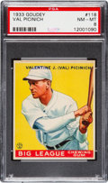 Baseball Cards:Singles (1930-1939), 1933 Goudey Val Picinich #118 PSA NM-MT 8....