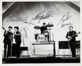 "Music Memorabilia:Autographs and Signed Items, Beatles - Autographed Photograph (1964). ""It is Very Likely TheGreatest Beatles Signed Photograph Known To Exist"" - Perry Cox..."