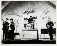 """Beatles - Autographed Photograph (1964). """"It is Very Likely The Greatest Beatles Signed Photograph Known To Exist&q..."""
