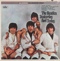 "Beatles Yesterday And Today Sealed First State Stereo ""Butcher Cover"" LP in GEM MINT 10 Cond"