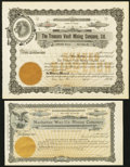 Miscellaneous:Other, Idaho and Nevada Remainder Mining Stock Certificates.. ... (Total:4 items)