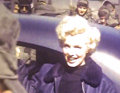 Movie/TV Memorabilia:Film, A Marilyn Monroe Never-Before-Seen Piece of Color Film Footage from Korea, 1954....