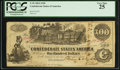 Confederate Notes:1862 Issues, T39 $100 1862. Issued in San Antonio, TX.. ...