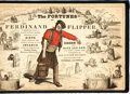 Books:Art & Architecture, [Cartoons]. The Fortunes of Ferdinand and Flipper. New York: Brother Jonathan Office, [n.d., Circa 1859]....