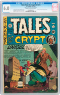 Golden Age (1938-1955):Horror, Tales From the Crypt #20 (#1) (EC, 1950) CGC FN 6.0 Cream tooff-white pages....