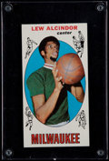 Basketball Cards:Singles (Pre-1970), 1969 Topps Lew Alcindor #25 Rookie Card....