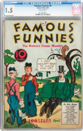 Platinum Age (1897-1937):Miscellaneous, Famous Funnies #9 (Eastern Color, 1935) CGC FR/GD 1.5 Brittle pages....