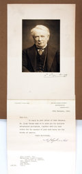 Autographs:Non-American, British Prime Minister David Lloyd George Signed Photograph....