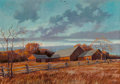 Fine Art - Painting, American:Contemporary   (1950 to present)  , Eric Sloane (American, 1905-1985). Long Island Autumn. Oilon masonite. 34 x 48 inches (86.4 x 121.9 cm). Signed lower r...