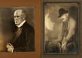 Autographs:Artists, Gutzon Borglum Signed and Inscribed Photograph....