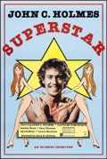 "Movie Posters:Adult, Superstar John Holmes (Pacific Films, 1979). One Sheet (23.5"" X 35.25""). Adult.. ..."
