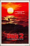 """Movie Posters:Horror, Jaws 2 (Universal, 1978). One Sheet (27"""" X 41"""") and Lobby Card Set of 4 (11"""" X 14"""") Teaser. Horror.. ... (Total: 5 Items)"""