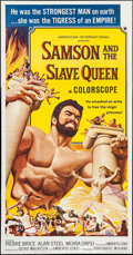 "Movie Posters:Action, Samson and the Slave Queen (American International, 1964). ThreeSheet (41"" X 79""). Action.. ..."