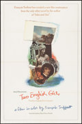 """Movie Posters:Foreign, Two English Girls (Janus Films, 1972). One Sheet (27"""" X 41""""). Foreign.. ..."""