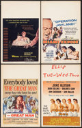 "Movie Posters:Bad Girl, Wicked as They Come & Others Lot (Columbia, 1956). Window Cards (6) (14"" X 22"", & 16.5"" X 22"") & Theatre Window Cards (2) (1... (Total: 8 Items)"