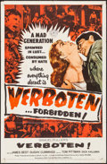 "Movie Posters:War, Verboten! & Other Lot (Rank Film, 1959). One Sheets (2) (27"" X41""). War.. ... (Total: 2 Items)"