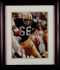 Football Collectibles:Photos, Ray Nitschke Signed Oversized Photograph....