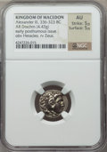 Ancients:Greek, Ancients: MACEDONIAN KINGDOM. Alexander III the Great (336-323 BC).AR drachm (4.43 gm)....