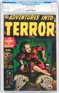 Golden Age (1938-1955):Horror, Adventures Into Terror #13 (Atlas, 1952) CGC FN 6.0 Cream tooff-white pages....