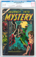 Golden Age (1938-1955):Horror, Journey Into Mystery #14 (Marvel, 1954) CGC GD/VG 3.0 Off-white towhite pages....