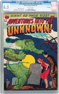 Golden Age (1938-1955):Horror, Adventures Into The Unknown #30 Bethlehem pedigree (ACG, 1952) CGCFN+ 6.5 Off-white pages....