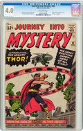 Silver Age (1956-1969):Superhero, Journey Into Mystery #83 (Marvel, 1962) CGC VG 4.0 Off-white pages....