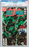 Modern Age (1980-Present):Superhero, Batman #357 (DC, 1983) CGC NM 9.4 Off-white to white pages....