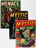 Golden Age (1938-1955):Horror, Mystic Group of 8 (Atlas, 1951-57) Condition: Average FR/GD....(Total: 8 Comic Books)