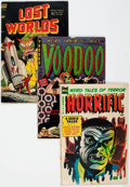 Golden Age (1938-1955):Horror, Comic Books - Assorted Golden Age Horror Comics Group of 6 (VariousPublishers, 1950s) Condition: Average GD/VG.... (Total: 6 ComicBooks)