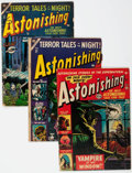 Golden Age (1938-1955):Horror, Astonishing Group of 11 (Atlas, 1951-56) Condition: Average FR....(Total: 11 Comic Books)
