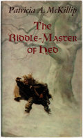 Books:Science Fiction & Fantasy, Patricia A McKillip. The Riddle-Master of Hed. New York: Atheneum, 1976....