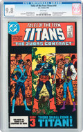 Modern Age (1980-Present):Superhero, Tales of the Teen Titans #44 (DC, 1984) CGC NM/MT 9.8 Whitepages....