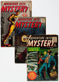 Atlas Golden and Silver Age Horror Comics Group of 5 (Atlas, 1956-57) Condition: Average GD-.... (Total: 5 Comic Books)