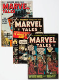 Golden Age (1938-1955):Horror, Marvel Tales #116, 118, and 136 Group (Atlas, 1953-55).... (Total:3 Comic Books)