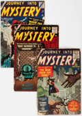 Golden Age (1938-1955):Horror, Journey Into Mystery Group of 8 (Atlas/Marvel, 1955-62) Condition:Average FR.... (Total: 8 Comic Books)